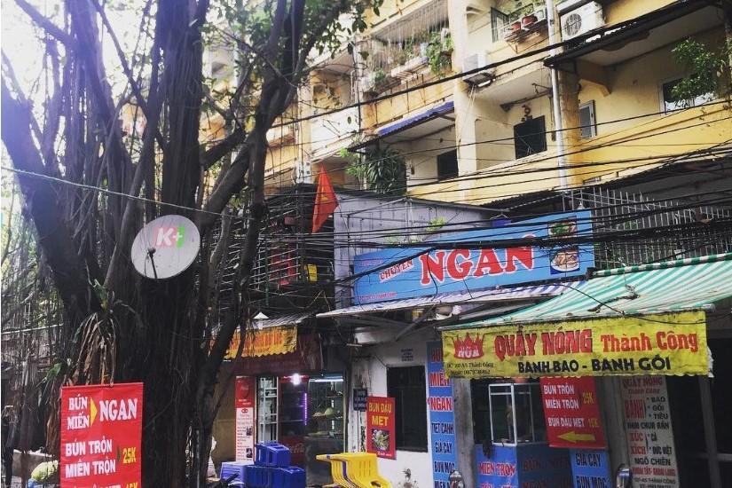 Chợ Thành Công - Phố ăn vặt ở Hà Nội