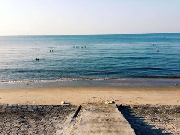 Bãi biển ở khu cắm trại zenna pool camp