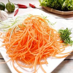 cà rốt nạo sợi